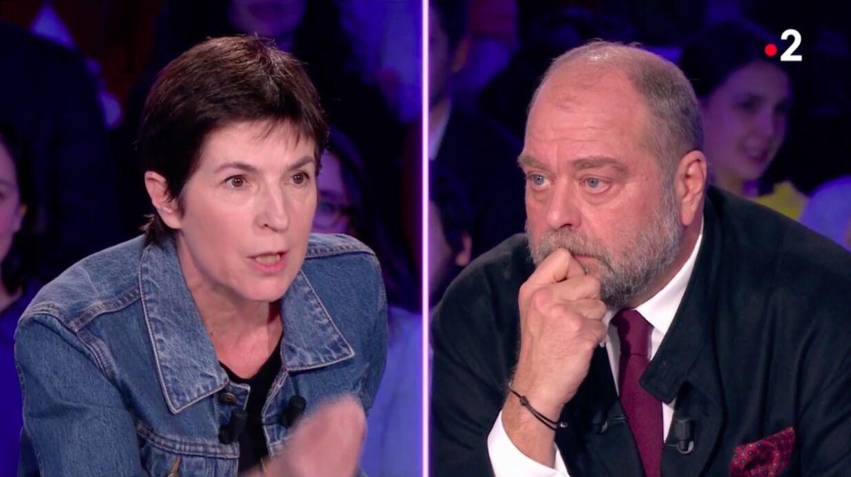 VIDEO Gros clash entre Christine Angot et Eric Dupond-Moretti dans On n'est pas couché