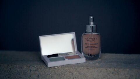 Nos beauty crushs: la palette Extra Glow Skincare Bobbi Brown et le sérum Capture Youth Dior