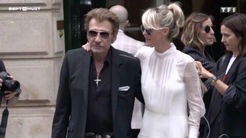VIDEO Johnny Hallyday: David et Laura figuraient bien dans son précédent testament