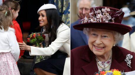 PHOTOS Meghan Markle rayonnante pour sa première sortie officielle avec la reine Elizabeth II