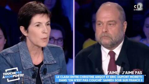 VIDEO Après son clash avec Eric Dupond-Moretti, Christine Angot a quitté le plateau d'On n'est pas couché