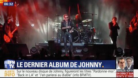 Album posthume de Johnny Hallyday: le chanteur évoque la mort et demande pardon à Laeticia
