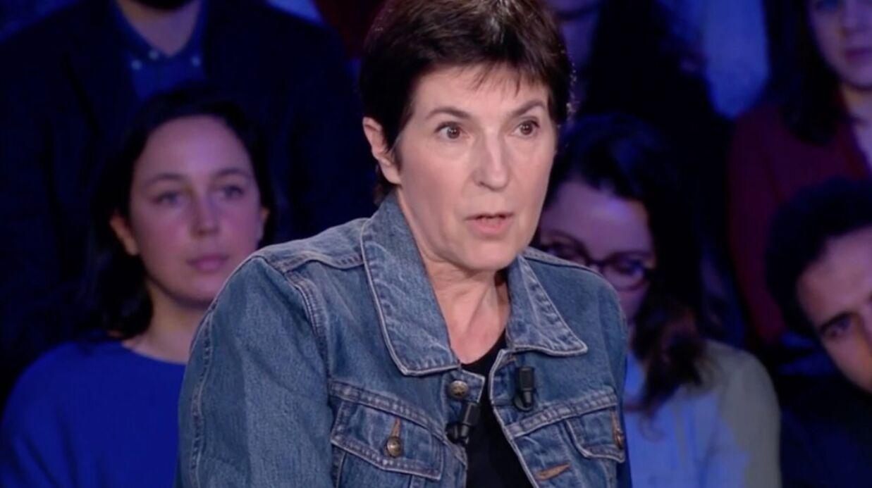 Christine Angot: comment la chroniqueuse d'On n'est pas couché réagit aux critiques qu'elle reçoit?