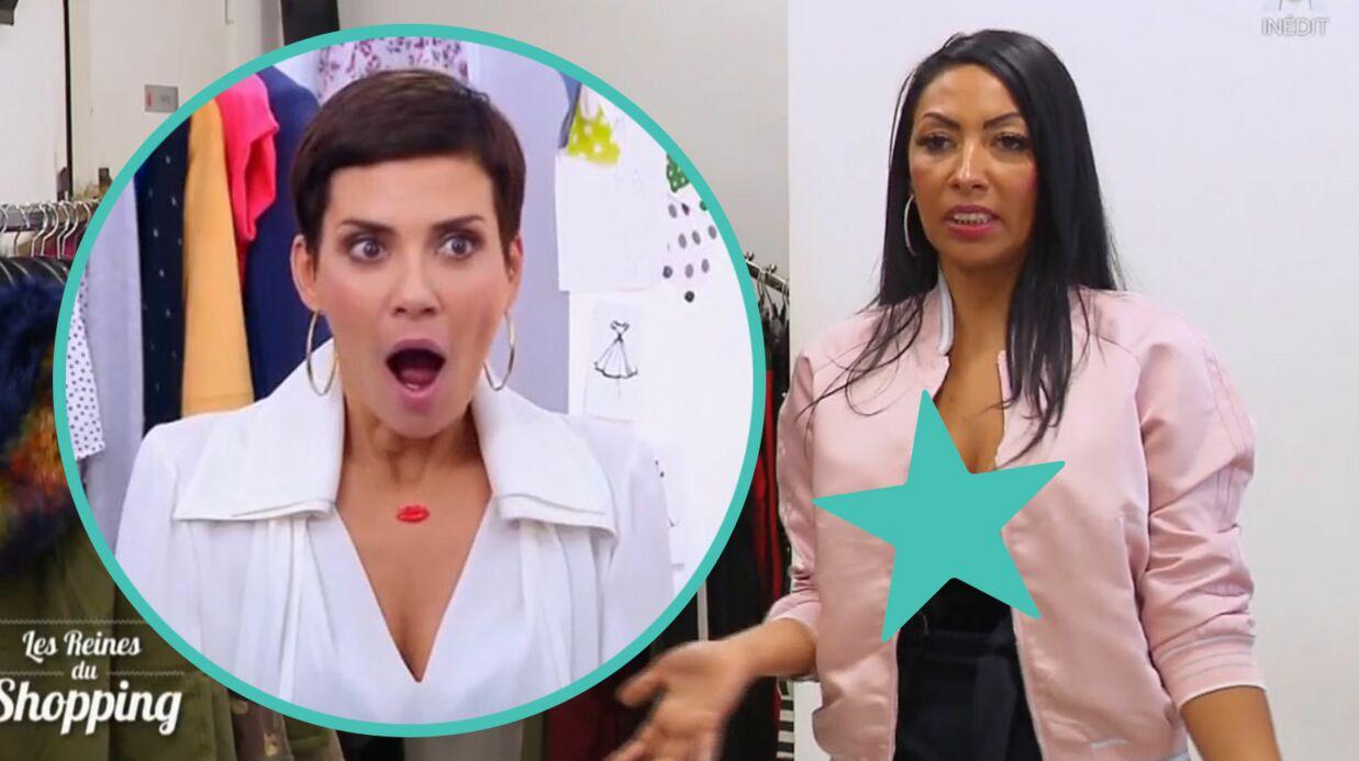 Les reines du shopping: Cristina Cordula scandalisée par le décolleté XXL d'une candidate