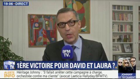 VIDEO Procès Johnny Hallyday: le coup de gueule de l'avocat de Laeticia Hallyday contre David et Laura