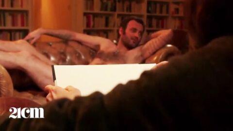 Augustin Trapenard pose tout nu comme dans Titanic, la taille de son pénis surprend
