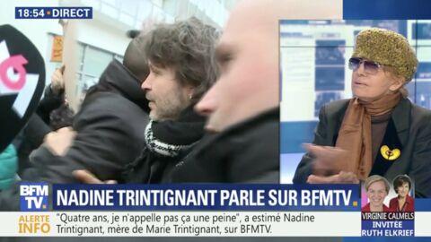 VIDEO Bertrand Cantat: Nadine Trintignant tacle son «faux suicide» lors de son procès