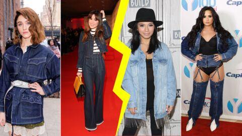 Les do et les don'ts de la semaine: la veste en jean
