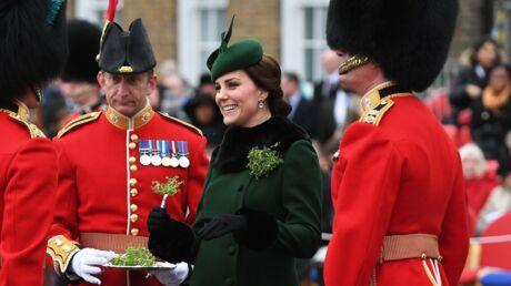 PHOTOS Kate Middleton bien enceinte pour la Saint-Patrick, comme un air de déjà-vu