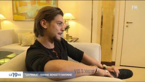 VIDEO Rayane Bensetti: son geste symbolique quelques jours après la mort de son père