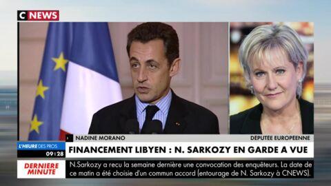 VIDEO Nicolas Sarkozy: déchaînée, Nadine Morano pète les plombs en direct et raccroche au nez de Pascal Praud