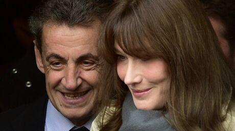 Carla Bruni, soutien inconditionnel de Nicolas Sarkozy, lui envoie un beau message