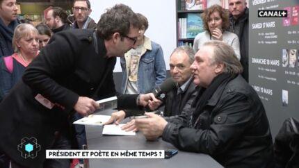 VIDEO La sortie improbable de Gérard Depardieu contre Emmanuel Macron