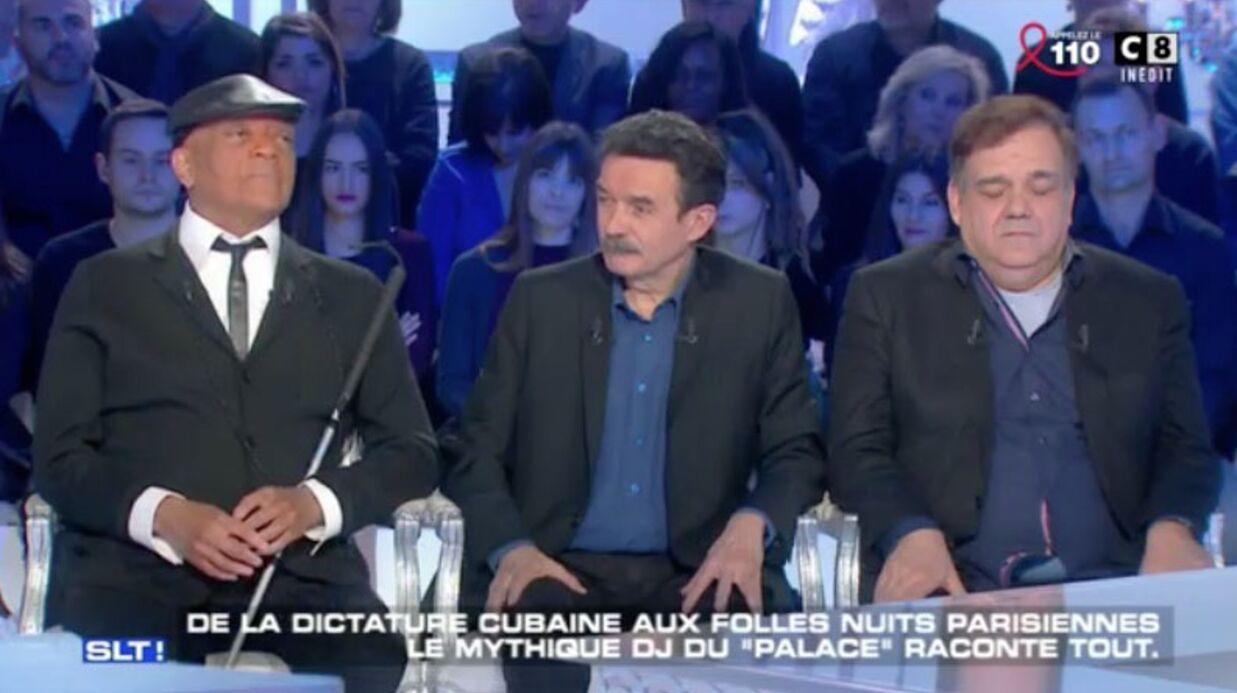 VIDEO Didier Bourdon: pas très concentré, le comédien s'endort sur le plateau de Salut les Terriens!