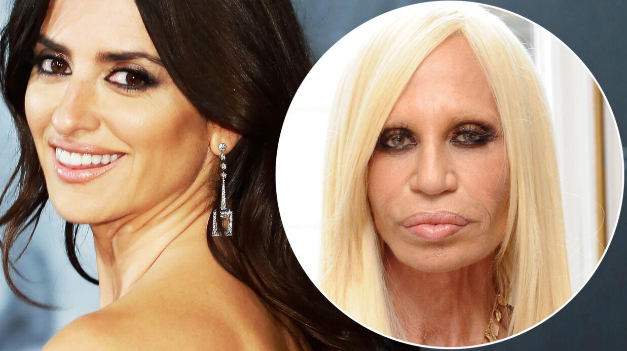 VIDEO Penelope Cruz en Donatella Versace: la preview qui fait peur