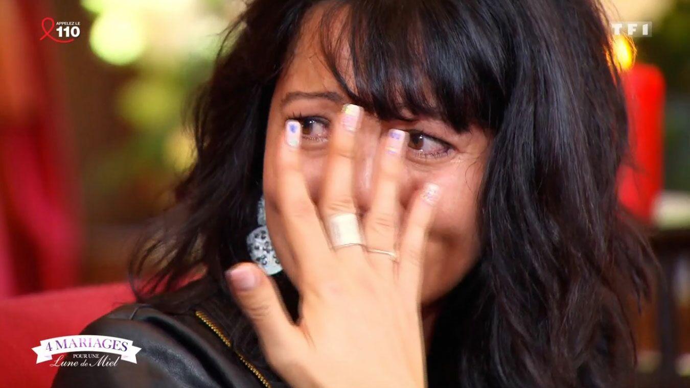 4 mariages pour une lune de miel : une candidate fond en larmes en découvrant ses notes