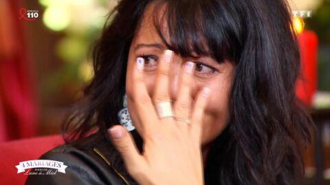 4 mariages pour une lune de miel: une candidate fond en larmes en découvrant ses notes