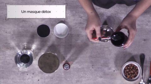 VIDEO LA MINUTE DIY: Comment fabriquer un masque détox au charbon pour lutter contre les imperfections