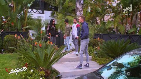 VIDEO Les Anges 10: les candidats se recueillent… chez Johnny Hallyday à Los Angeles!