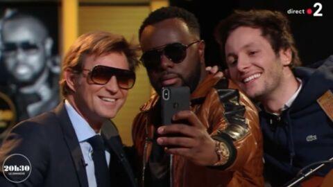 VIDEO Quand Laurent Delahousse se lâche en direct avec Maître Gims et Vianney