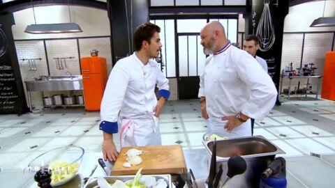 VIDEO Top Chef: Victor très mal à l'aise face à Philippe Etchebest après une grande révélation