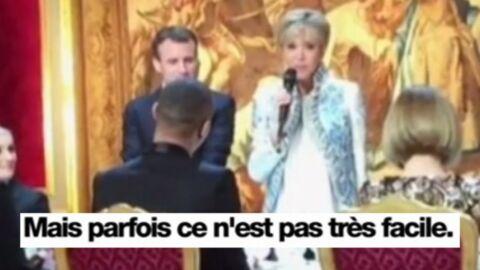VIDEO Brigitte Macron: son aveu surprenant concernant les dîners officiels à l'Elysée