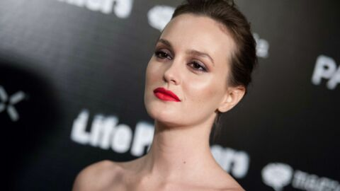 PHOTO Leighton Meester (Gossip Girl) passe au blond platine, l'actrice est méconnaissable