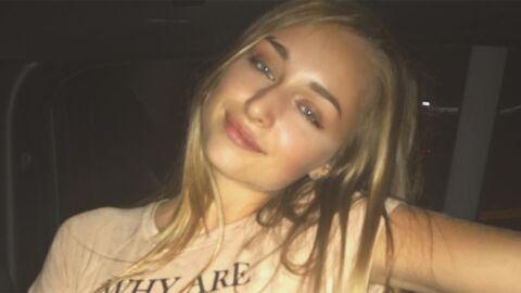 PHOTO Emma Smet: en décolleté sexy, la fille de David Hallyday hypnotise les internautes