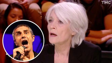Françoise Hardy tacle sévèrement les performances de Julien Clerc sur le plateau de Quotidien