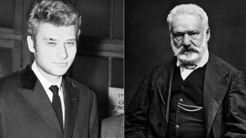 Les deux points communs hallucinants que partagent Johnny Hallyday et Victor Hugo