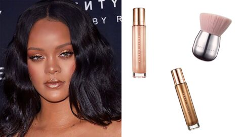 Tendance make-up : le maquillage gold de Rihanna