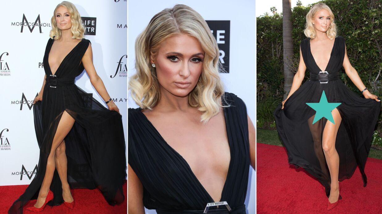 PHOTOS Oups… Paris Hilton dévoile sa culotte, une autre star montre ses fesses sur le tapis rouge