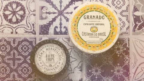 Nos beauty crushs: l'exfoliant corporel Granado et le baume corps Merveillosa Casanera