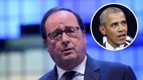 François Hollande dézingue Barack Obama: «la chaleur et la simplicité disparaissent en petit comité»