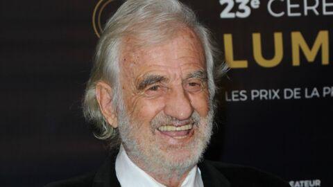 PHOTOS Jean-Paul Belmondo très en forme et entouré de ses petits-enfants pour ses 85 ans