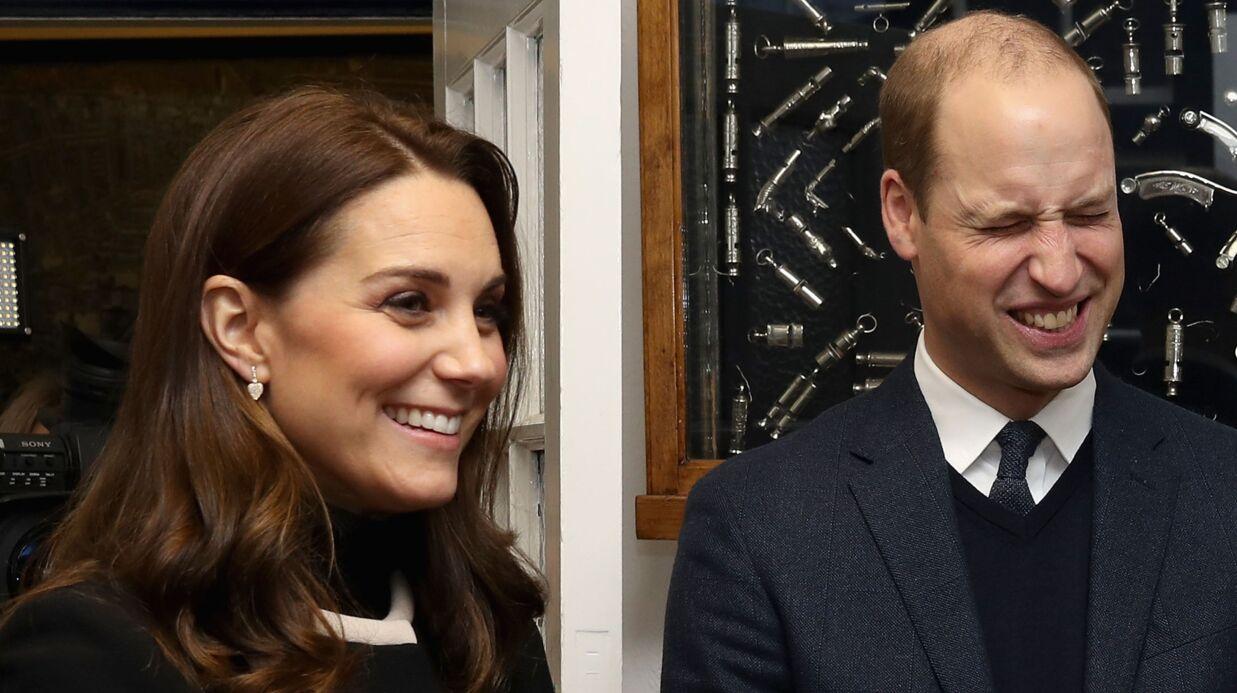 Kate Middleton enceinte: la GROSSE gaffe du prince William sur le sexe du bébé