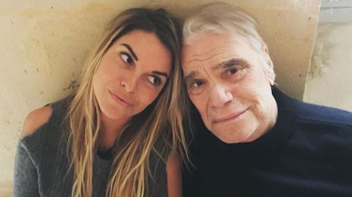 PHOTO Bernard Tapie malade : l'émou­vant message de sa fille Sophie face au cancer
