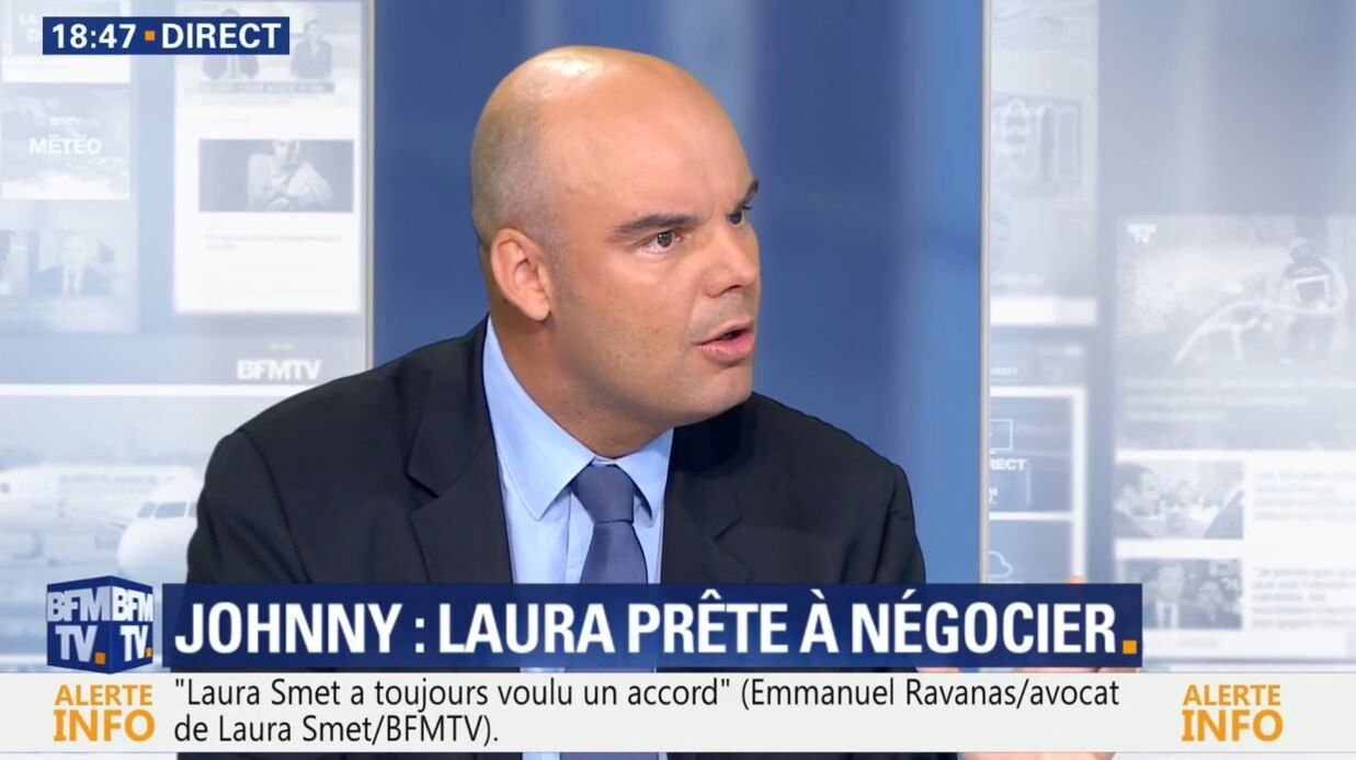 VIDEO Héri­tage de Johnny Hally­day : l'avocat de Laura Smet annonce qu'elle « s'expri­mera » sur l'affaire