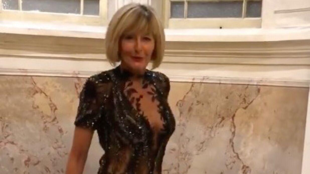 PHOTOS Annick (L'amour est dans le pré): l'ex-prétendante de Thierry nue sous une robe très transparente