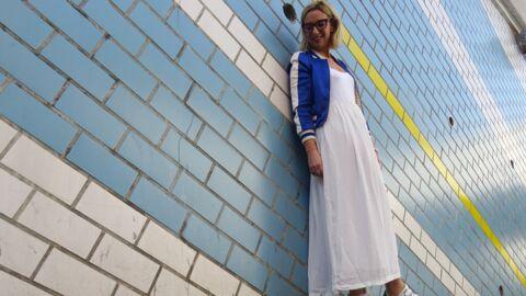 Comment porter la robe blanche? Le défi de Virginie