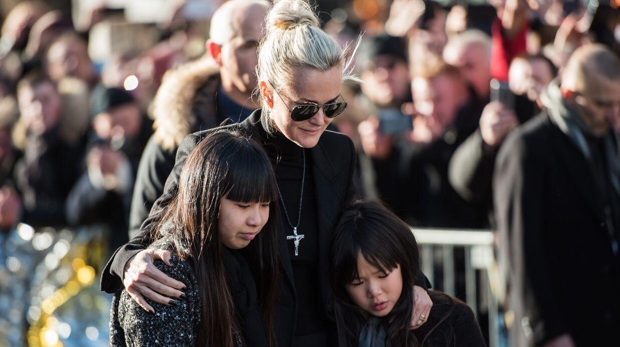 Laeticia Hallyday de retour à Saint-Barthélemy avec Jade et Joy