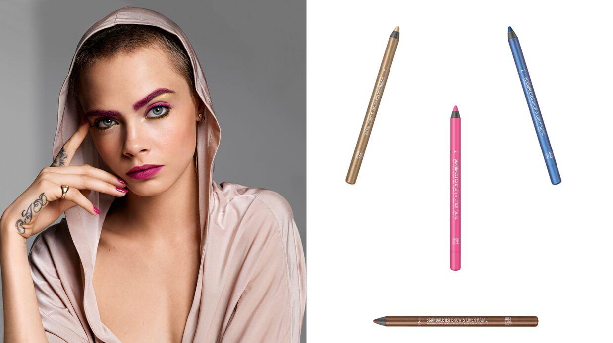 Tuto makeup: je veux les sourcils roses, à la Cara Delevingne
