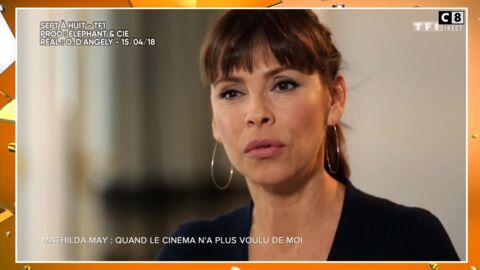 VIDEO Mathilda May dénonce le jeunisme du cinéma français… et se fait incendier dans C'est que de la télé