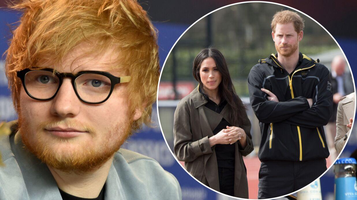 Mariage du Prince Harry et Meghan Markle  Ed Sheeran impliqué bien malgré  lui dans une GROSSE bourde