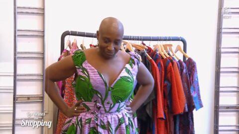 VIDEO Les Reines du shopping: Dominique Magloire (The Voice) en larmes face à sa perte de poids