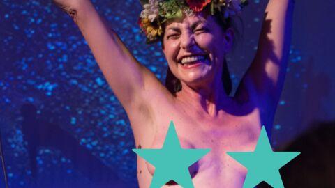PHOTOS Lio topless sur scène pour les 10 ans du mouvement Femen
