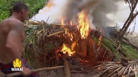 Koh-Lanta: que risquaient les candidats lors de l'incendie sur le camp des jaunes?