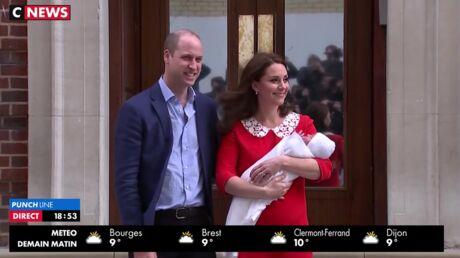 PHOTOS Kate Middleton maman: découvrez la première sortie du royal baby