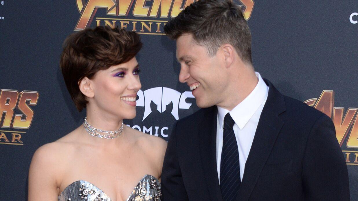 PHOTOS Scarlett Johansson: premier red carpet avec son compagnon pour Avengers: Infinity War