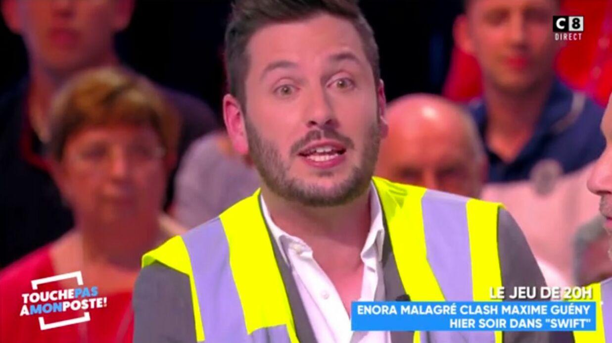 VIDEO Maxime Guény: blessé par les critiques d'Enora Malagré, il lui répond en direct